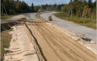 Construction of the road section on Moscow-Holmogory route, Pereslavl-Zalessky district
